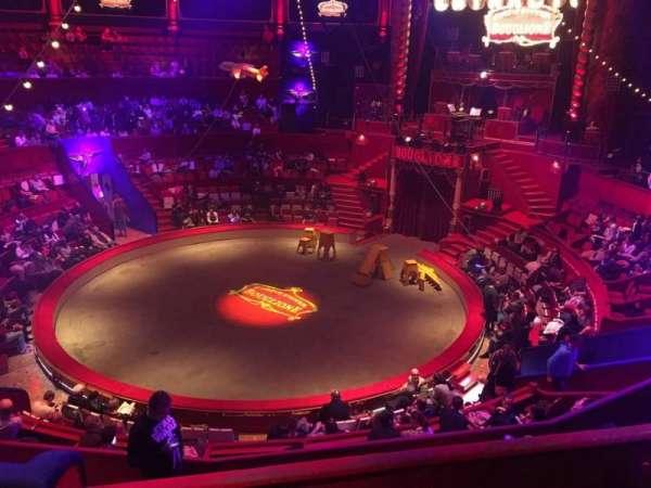 Cirque d'hiver, secção: C, fila: C, lugar: 38