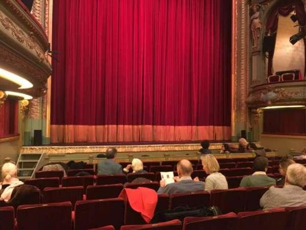 Théâtre Royal du Parc, secção: Orchestre, fila: I, lugar: 139