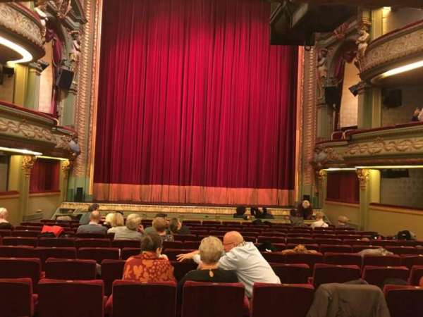 Théâtre Royal du Parc, secção: Orchestre, fila: M, lugar: 219