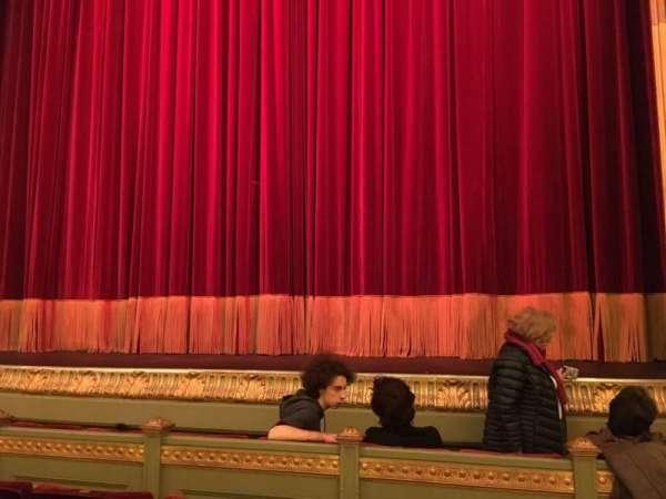 Théâtre Royal du Parc, secção: Orchestre, fila: D, lugar: 50