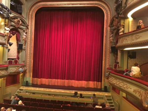 Théâtre Royal du Parc, secção: Premier Balcon, fila: B, lugar: 30