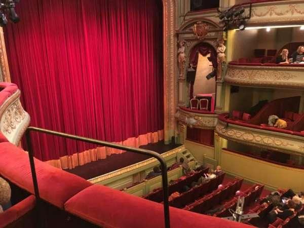 Théâtre Royal du Parc, secção: Deuxième Balcon, fila: B, lugar: 23