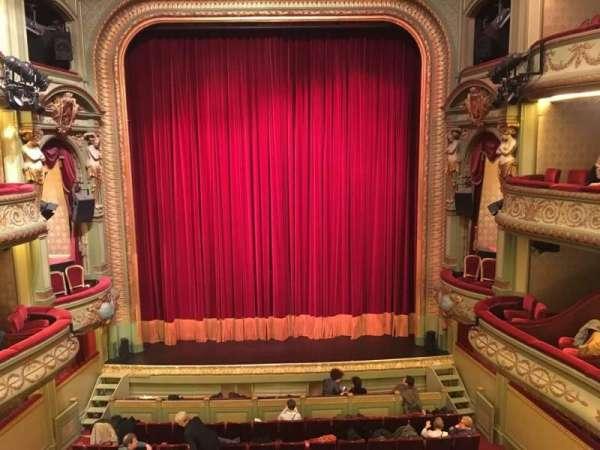 Théâtre Royal du Parc, secção: Deuxième Balcon, fila: A, lugar: 22