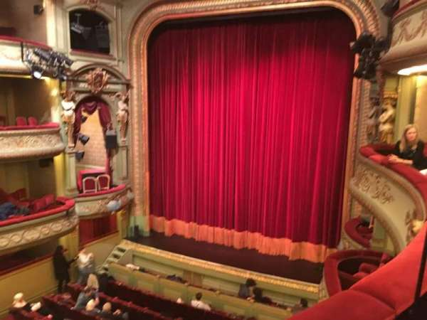 Théâtre Royal du Parc, secção: Deuxième Balcon, fila: B, lugar: 28
