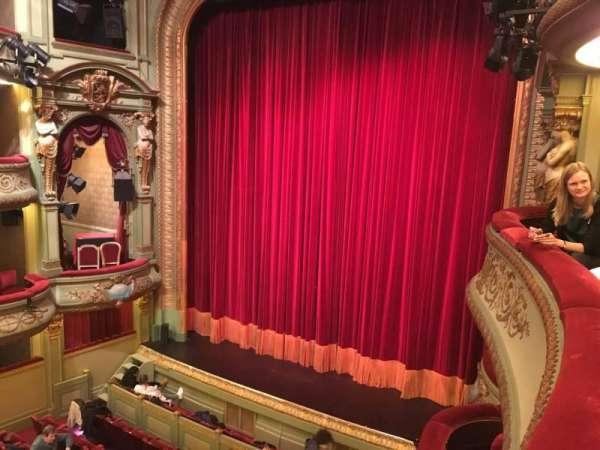 Théâtre Royal du Parc, secção: 1eres Loges 6, fila: 1, lugar: 1