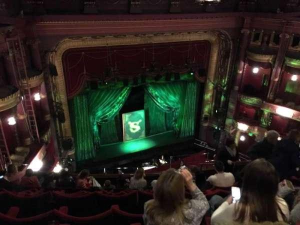 Palace Theatre (Manchester), secção: Grand Tier, fila: J, lugar: 40