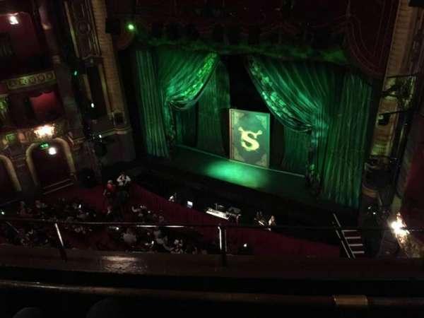 Palace Theatre (Manchester), secção: Grabd Tier, fila: B, lugar: 10