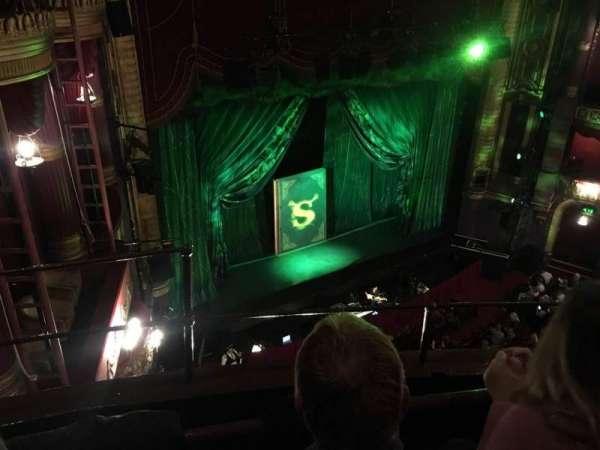 Palace Theatre (Manchester), secção: Grand Tier, fila: B, lugar: 44