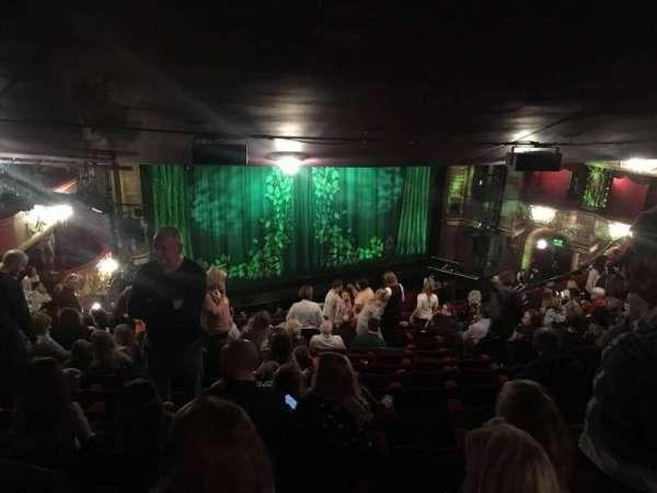 Palace Theatre (Manchester), secção: Circke, fila: Q, lugar: 39