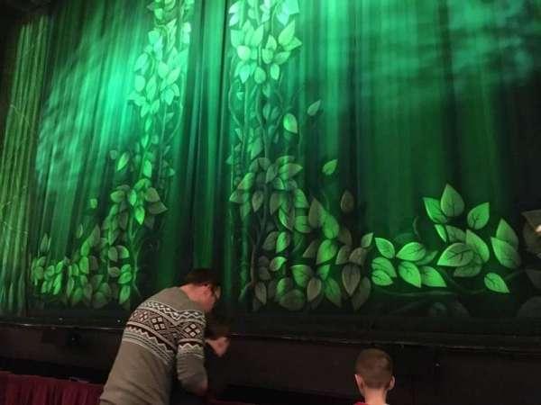Palace Theatre (Manchester), secção: Stalls, fila: Bb, lugar: 16