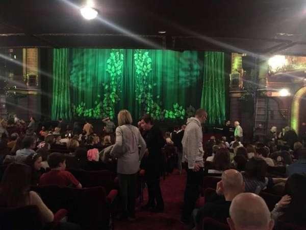 Palace Theatre (Manchester), secção: Stalls, fila: Q, lugar: 15