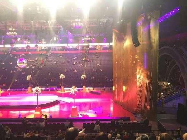 Manchester Arena, secção: 115, fila: T, lugar: 8