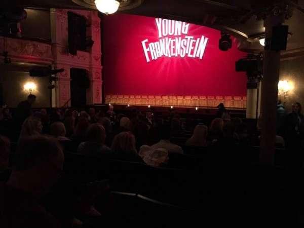 Garrick Theatre, secção: Stalls, fila: N, lugar: 3