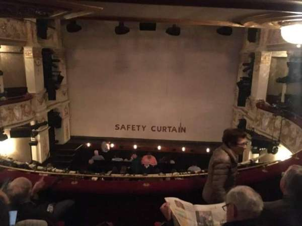 Garrick Theatre, secção: Circle, fila: D, lugar: 11