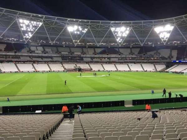 London Stadium, secção: 134, fila: 25, lugar: 308