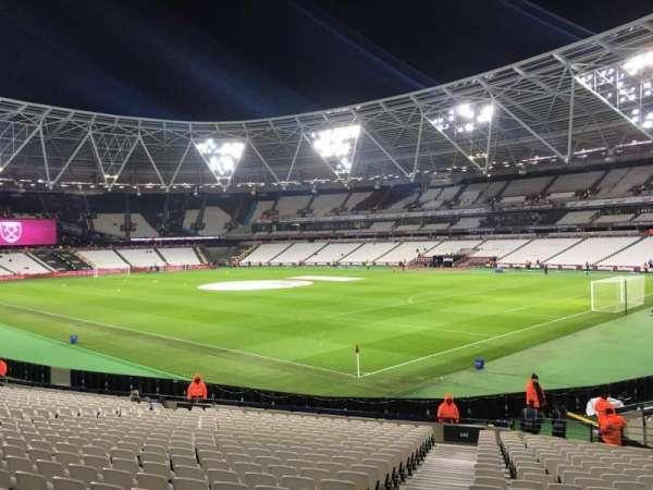 London Stadium, secção: 142, fila: 24