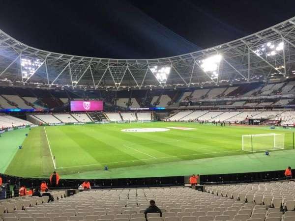 London Stadium, secção: 145, fila: 22