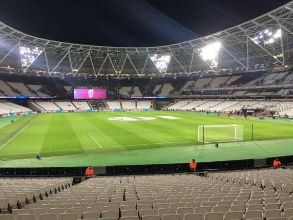 London Stadium, secção: 146, fila: 23