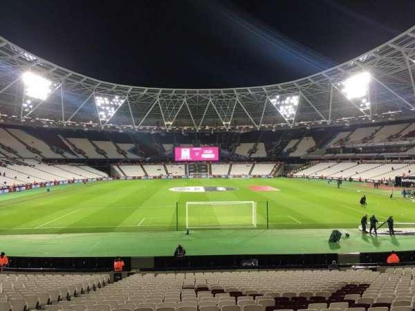 London Stadium, secção: 148, fila: 22