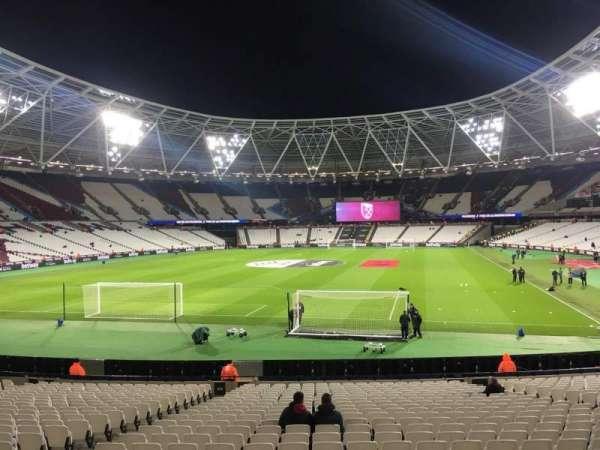 London Stadium, secção: 153, fila: 22