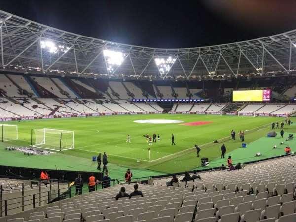 London Stadium, secção: 102, fila: 24