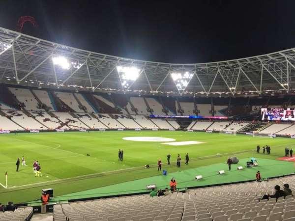 London Stadium, secção: 104, fila: 24