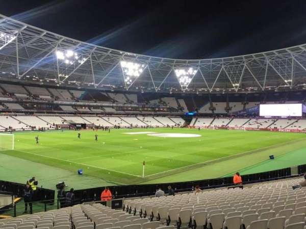 London Stadium, secção: 130, fila: 25