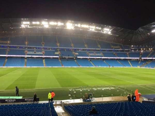Etihad Stadium (Manchester), secção: 128, fila: Z, lugar: 770
