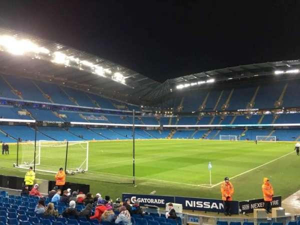 Etihad Stadium (Manchester), secção: 134, fila: M, lugar: 890