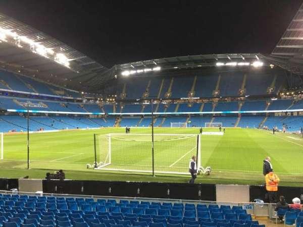 Etihad Stadium (Manchester), secção: 135, fila: N, lugar: 965
