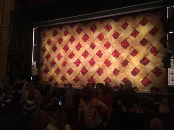 Forrest Theatre, secção: Orchestra D, fila: K, lugar: 2