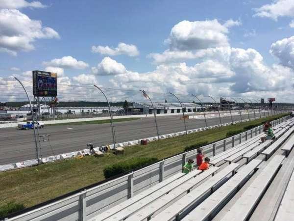 Pocono Raceway, secção: 141, fila: 8, lugar: 14