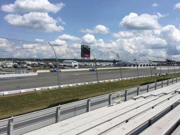 Pocono Raceway, secção: 143, fila: 9, lugar: 13