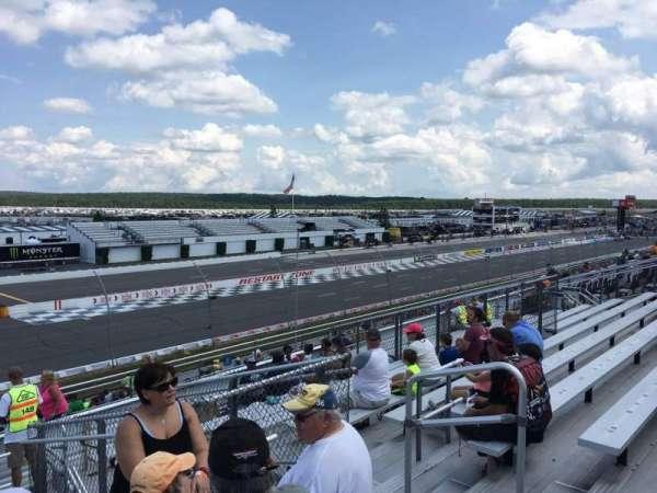 Pocono Raceway, secção: 243, fila: 29, lugar: 6