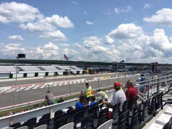 Pocono Raceway, secção: 241, fila: 25, lugar: 9