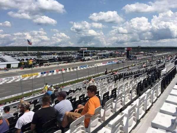 Pocono Raceway, secção: 237, fila: 33, lugar: 16