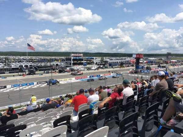 Pocono Raceway, secção: 233, fila: 34, lugar: 9