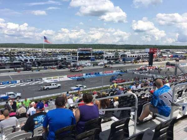 Pocono Raceway, secção: 231, fila: 40, lugar: 4