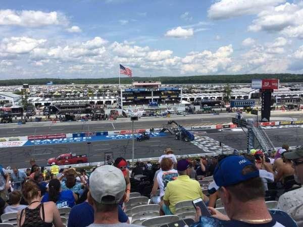 Pocono Raceway, secção: 227, fila: 38, lugar: 19