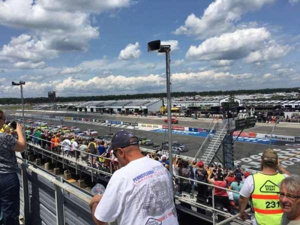 Pocono Raceway, secção: 224, fila: 19, lugar: 1