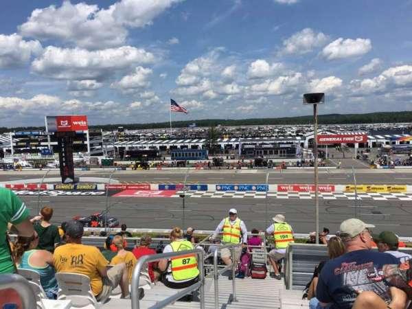 Pocono Raceway, secção: 220, fila: 25, lugar: 1