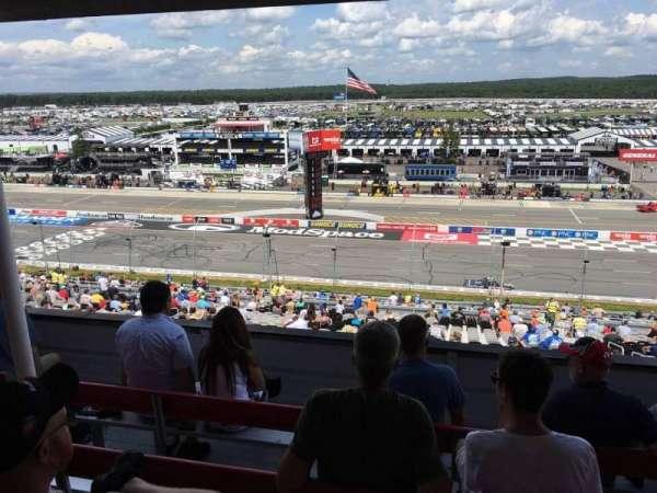 Pocono Raceway, secção: 321, fila: D, lugar: 22