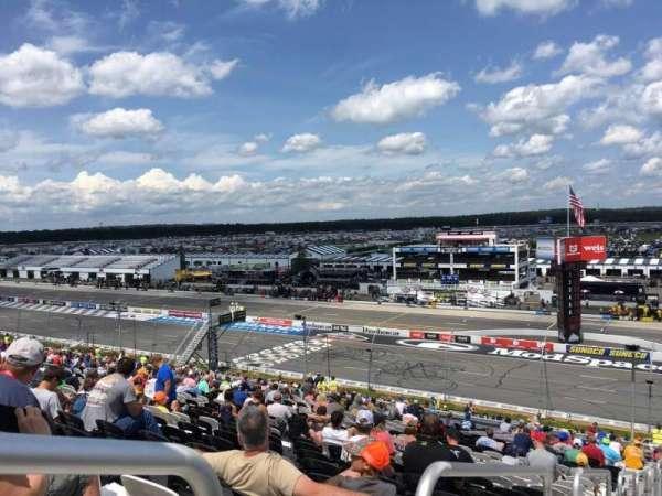 Pocono Raceway, secção: 232, fila: 45, lugar: 1