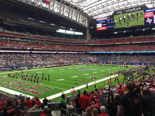 NRG Stadium, secção: 133, fila: Cc, lugar: 1