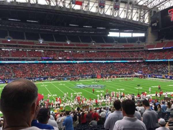 NRG Stadium, secção: 109, fila: Ff, lugar: 1