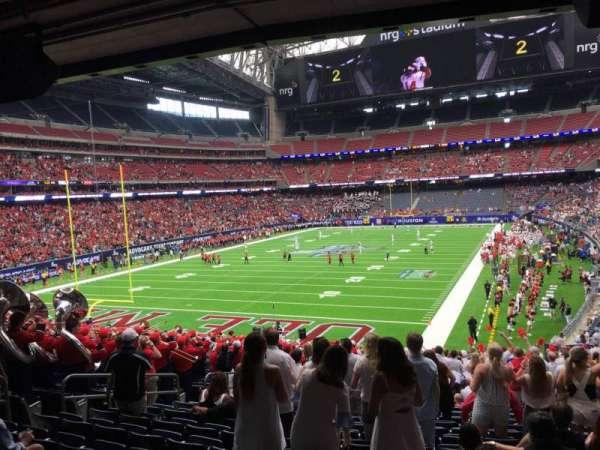 NRG Stadium, secção: 114, fila: Gg, lugar: 18