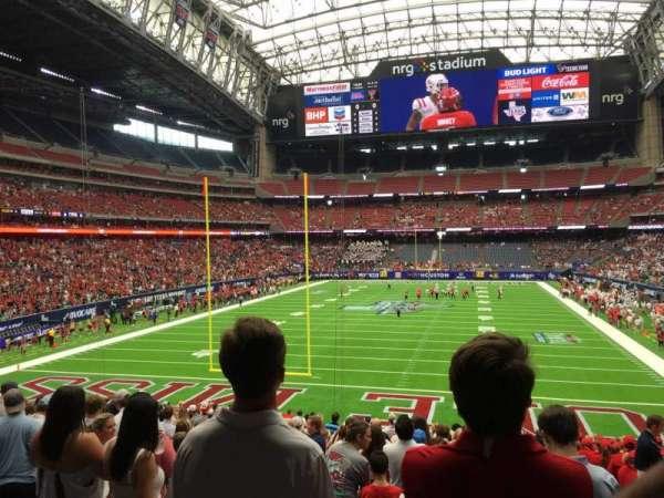 NRG Stadium, secção: 116, fila: Dd, lugar: 2