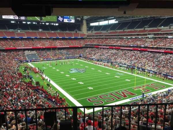 NRG Stadium, secção: 329, fila: Aca
