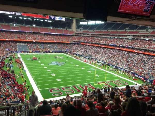 NRG Stadium, secção: 326, fila: V, lugar: 18
