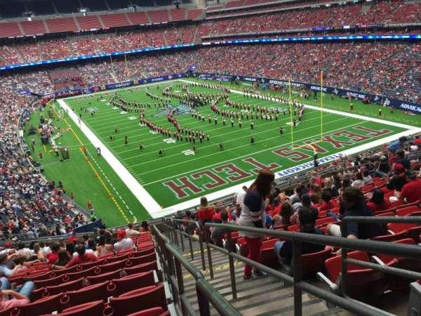 NRG Stadium, secção: 355, fila: S, lugar: 1